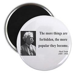 Mark Twain 32 Magnet