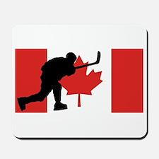 Slap Shot Canadian Flag Mousepad