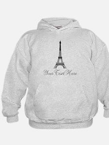 Personalizable Eiffel Tower Hoodie