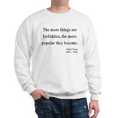 Mark Twain 32 Sweatshirt
