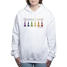 Cute Wee folk art Women's Hooded Sweatshirt
