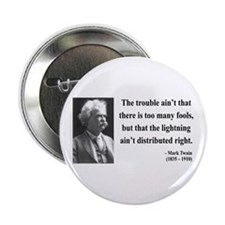 """Mark Twain 33 2.25"""" Button"""