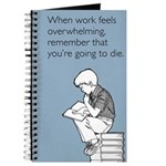Work Feels Overwhelming Journal