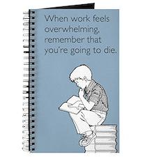 Work Feels Overwhelming Journal