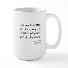 Mark Twain 33 Large Mug