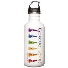 Gnome-Love.gif Stainless Water Bottle 1.0l