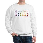 gnome-love.gif Sweatshirt