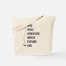 Cute Travel addict Tote Bag
