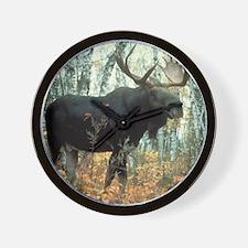 Huge Moose Wall Clock