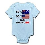 Australian flag Bodysuits