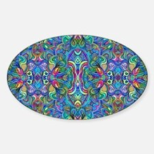 Colorful Abstract Psychedel Bumper Stickers