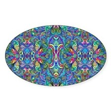 Colorful Abstract Psychedel Decal
