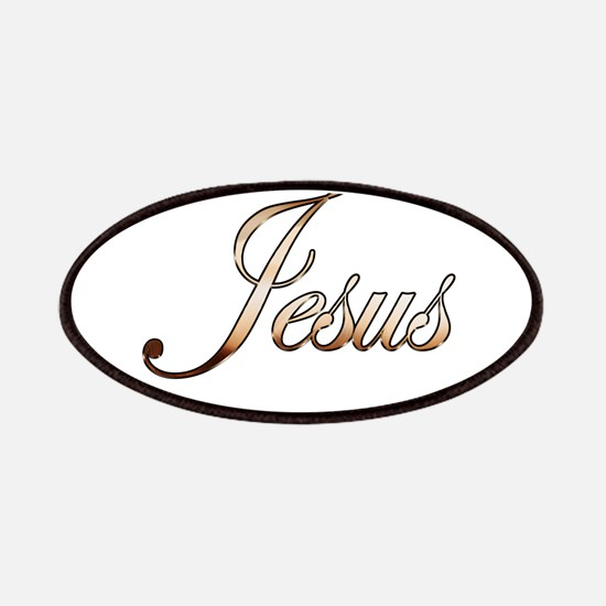 Gold Jesus Patch