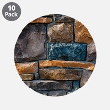 """Stone Wall 3.5"""" Button (10 pack)"""