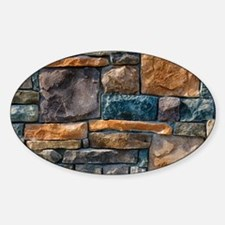 Stone Wall Decal