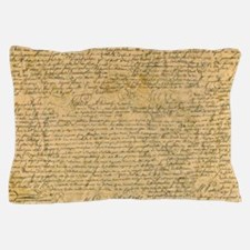 Old Manuscript Pillow Case