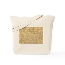 Old Manuscript Tote Bag