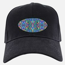 Colorful Abstract Psychedelic Symmetrica Baseball Hat