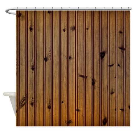wood planks shower curtain by wickeddesigns4