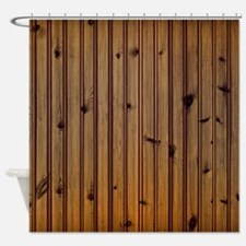 Wood Planks Shower Curtain