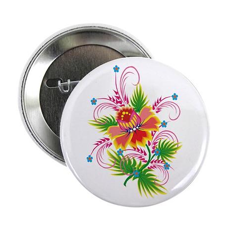 Flower Swirl Button