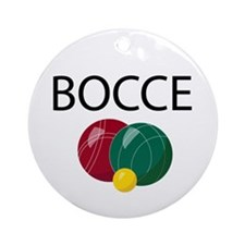 Bocce Ornament (Round)