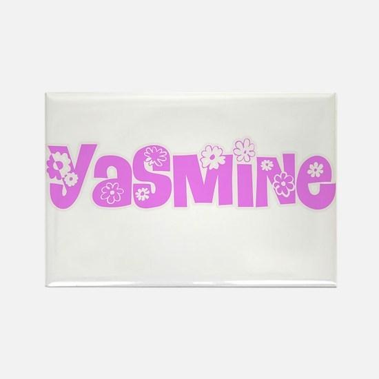 Yasmine Flower Design Magnets