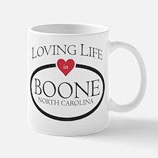Loving Life in Boone, NC Mug