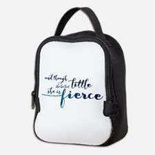 She is Fierce Neoprene Lunch Bag