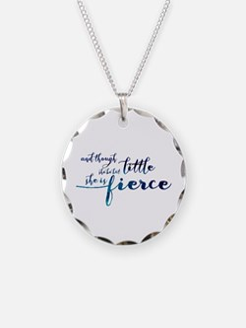 She is Fierce Necklace