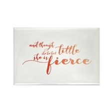 She is Fierce Rectangle Magnet (10 pack)