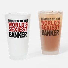 Married To The Worlds Sexiest Banker Drinking Glas