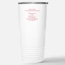 Study Time Travel Mug