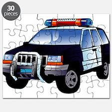 police car Puzzle