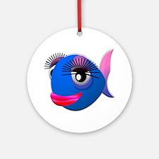 Fancy Fish Ornament (Round)
