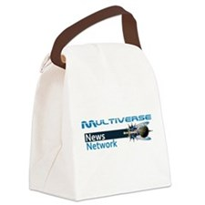Multiverse News Network Canvas Lunch Bag