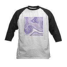 pastel lilac purple swirls Baseball Jersey