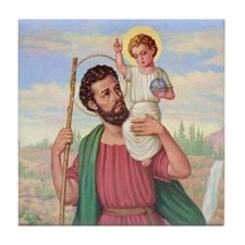St. Christopher Tile Coaster