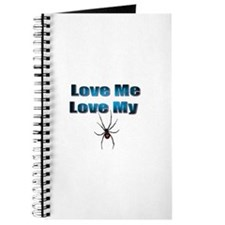 Love Me Love My Spyder Blue Journal