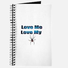 Love Me Love My Spyder Blue Journal
