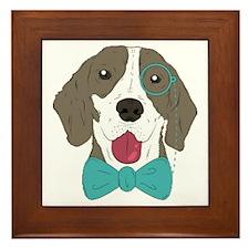 Marginal Dog Framed Tile