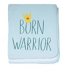 Born Warrior - Little Prince baby blanket