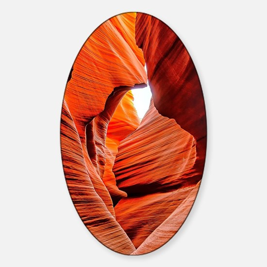 The Inner Canyon Sticker (Oval)