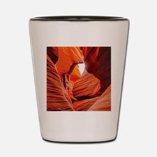The Inner Canyon Shot Glass