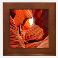 The Inner Canyon Framed Tile