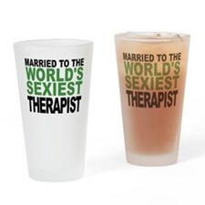 Married To The Worlds Sexiest Therapist Drinking G