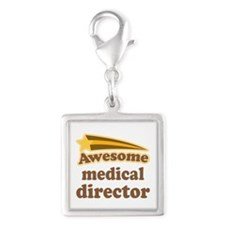 Medical Director Silver Square Charm