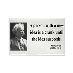 Mark Twain 35 Rectangle Magnet (100 pack)