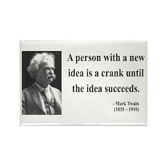 Mark Twain 35 Rectangle Magnet (10 pack)