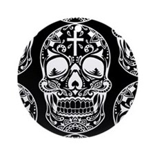 Sugar Skull Red.png Ornament (Round)